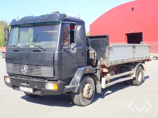 Mercedes 1520 4x2 Tippbil (kran) - 92