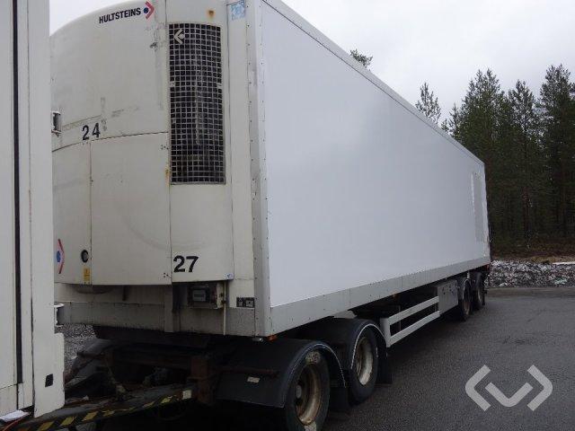 HÄRRYDA HLBBS-360-N 4-axlar Skåpsläp (kylaggregat+bg-lyft) - 05