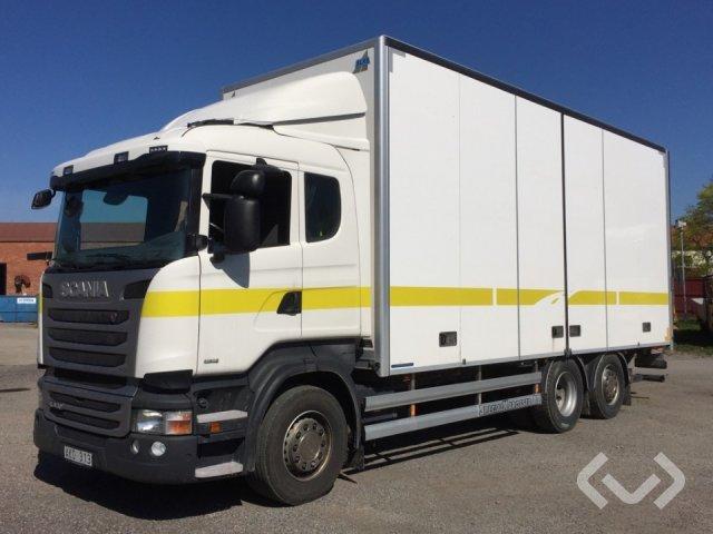 Scania R450LBMNB 6x2*4 Skåp (öppningsbar sida+bg-lyft) - 14