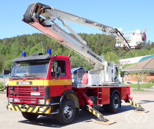 Scania G92M 42 4x2 Brandfordon (Bronto skylift) - 87