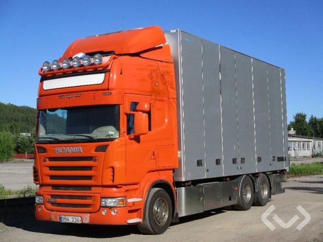 Scania R560LBMLB 6x2 Skåp (kylaggregat+öppningsbar sida) - 09