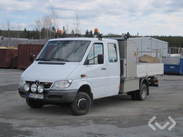 Mercedes Sprinter 416 CDI Pickup/Chassi 4x4 (156hk) - 05