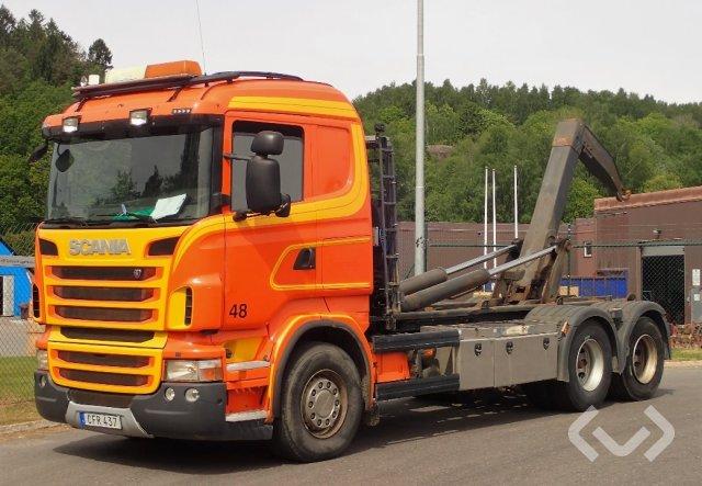 Scania R480LB HSZ 6x2 Lastväxlare - 10