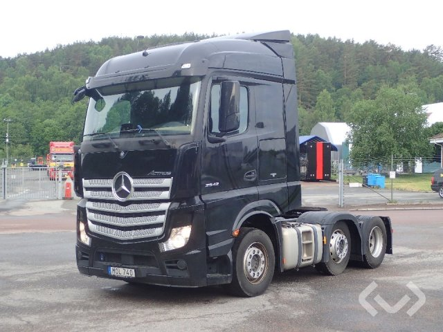 Mercedes ACTROS 2542 6x2 Dragbil (pusher) - 16