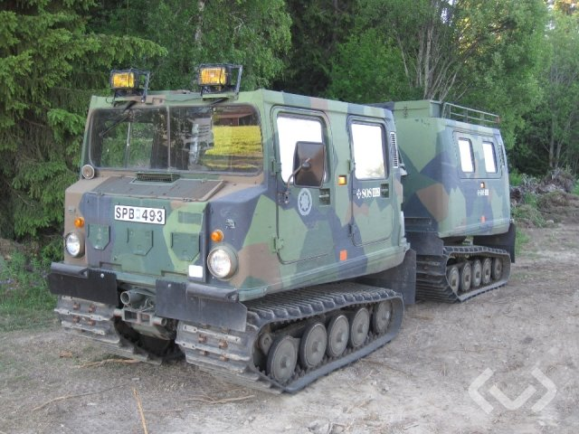 HÄGGLUNDS BV206 Bandvagn - 80