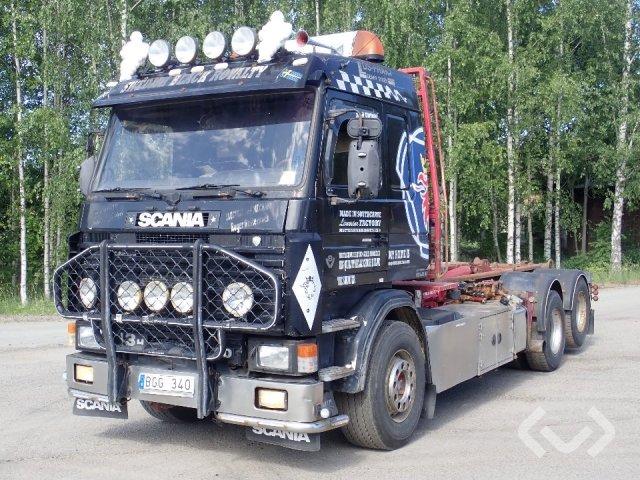 Scania R143HL 6x2 Lastväxlare - 96