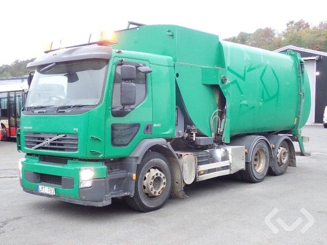 Volvo FE (Sidlastare) 6x2 Sopbil (sidlastare) - 10