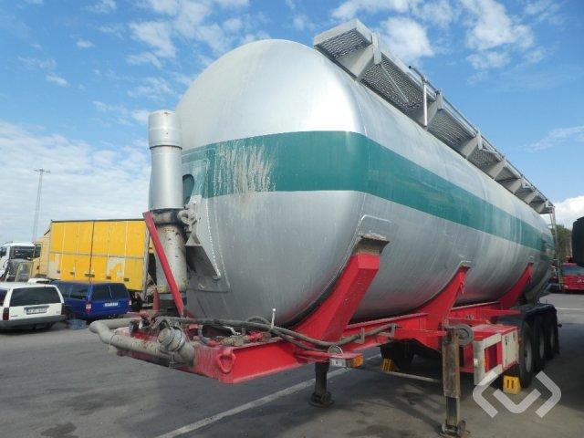 Interconsult STRT1-50CA 3-axlar Tanktrailer Bulk - 98