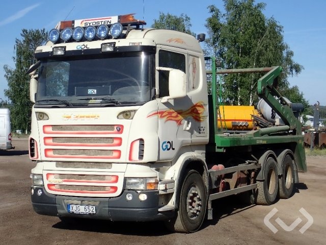 Scania R420LBHHZ Liftdumper 6x2 Liftdumper - 06