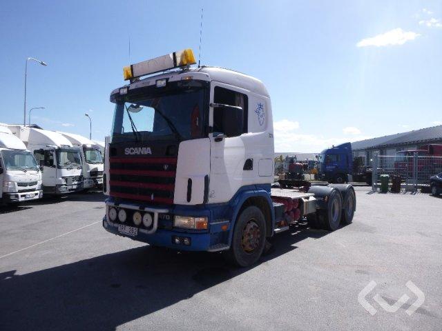 Scania R124GB NA 470 6x4 Dragbil - 03