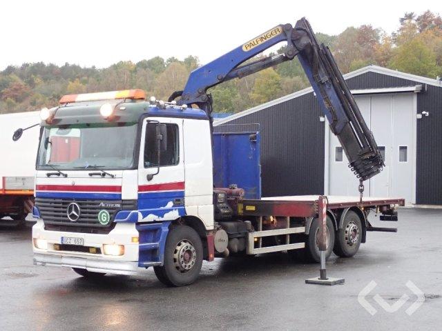 Mercedes 2546LL 6x2 Flak-lämmar (kran) - 03