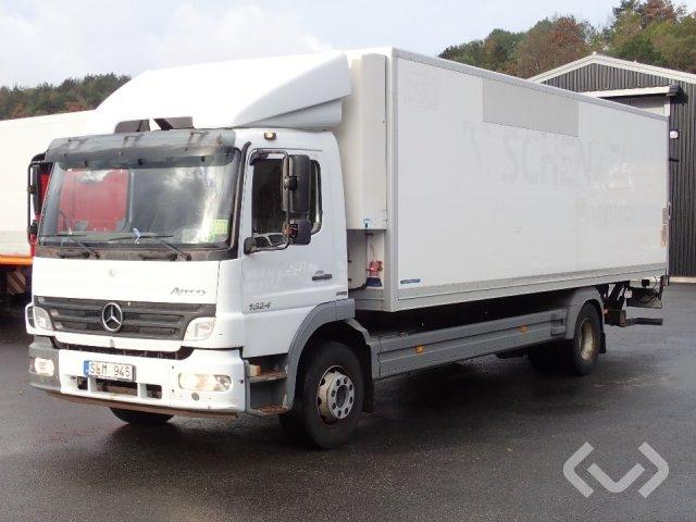 Mercedes Atego 1524 L 4x2 Skåp (kylaggregat+bg-lyft) - 07