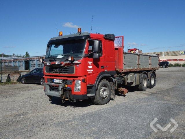 Volvo FM12 62R + underbett 6x2 Tippbil - 04