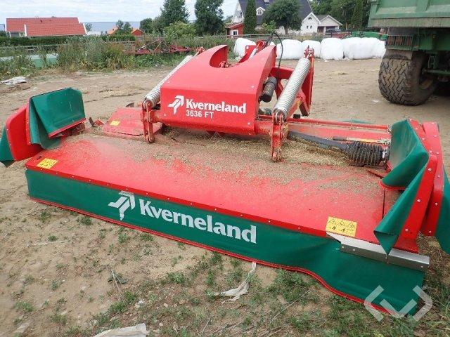 Kverneland 3636 FT Frontmonterad Tallriksslåtterkross - 17