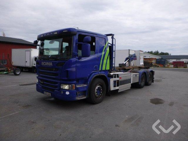 Scania P340 Lågbyggd  6x2*4 Lastväxlare - 14