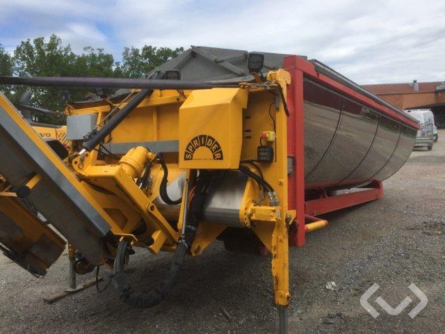 CMT Flak och asfaltsspridare sprider M-25 - 16