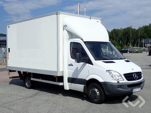 Mercedes Sprinter 518 CDI 4x2 Skåp (bg-lyft) - 08