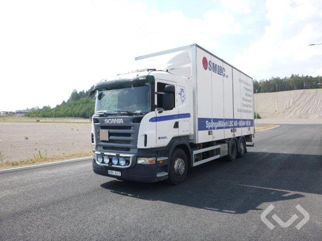 Scania R420LB  MNB 6x2 Skåp (bg-lyft) - 07