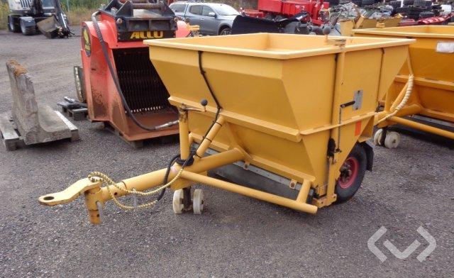 Friggeråkers / Falköping T15E Sandspridare (nya däck) - 11