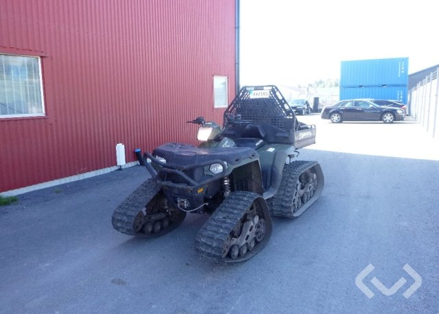 Polaris SPORTSMAN Forest 800 6X6 Big Boss ATV (bandsats+hjul) - 14