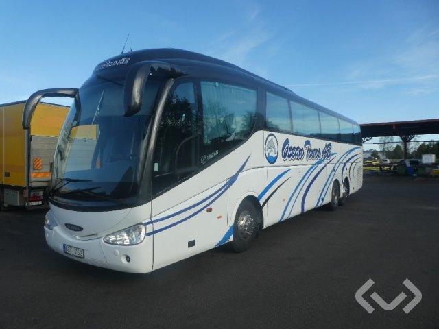 Scania K124 IRIZAR 3-axlar Turistbuss - 04