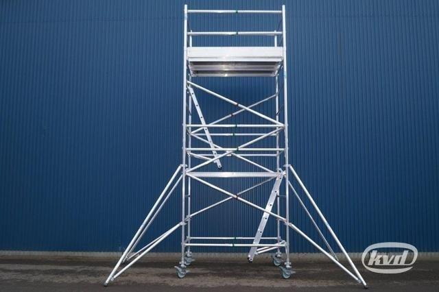 2 st rullställningar i aluminium (nya!)