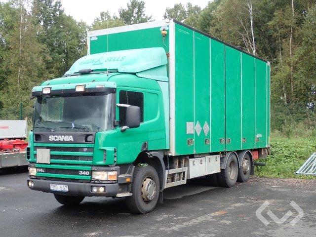 Scania P114LB NA340 (Rep. objekt) 6x2 Skåp (öppningsbar sida+bg-lyft) - 03