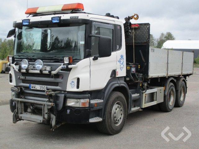 Scania R380LBHHZ 6x2 Tippbil (kran) - 05