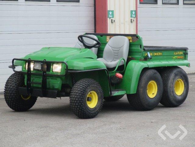 John Deere Gator Transportfordon med tippflak (diesel) - 04