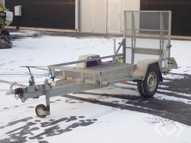 REKOTRAILER FA1630 Maskintrailer 1-axel Flak - 10