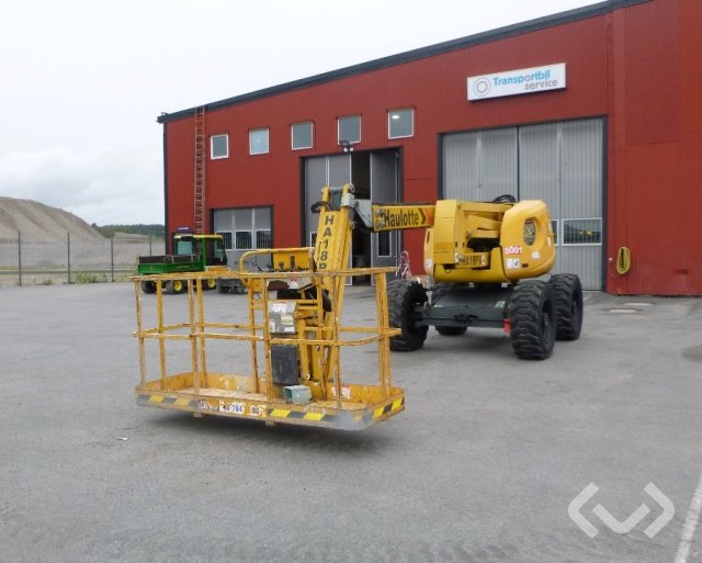 Haulotte HA18PX Bomlift - 07