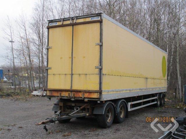 NÄRKO TP42-UKRGS30-360 (Export only) 4-axlar Skåpsläp (bg-lyft) - 00
