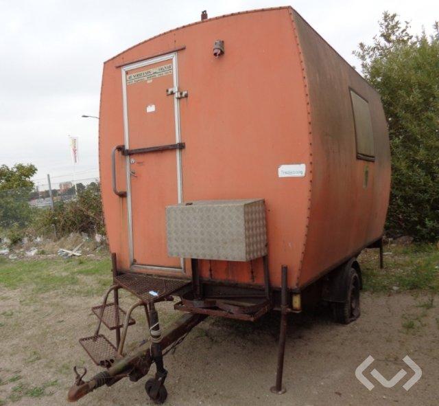 Manskaps/ Omklädningsvagn