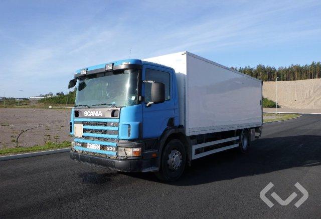 Scania P94DB LB230 4x2 Skåp (bg-lyft) - 01