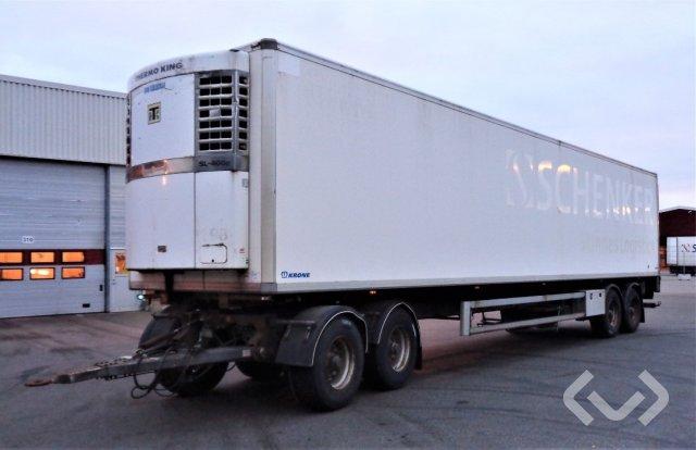 Norfrig WH4-36-125CFH 4-axlar Skåpsläp utrustad för hängande kött (kylaggregat) - 05