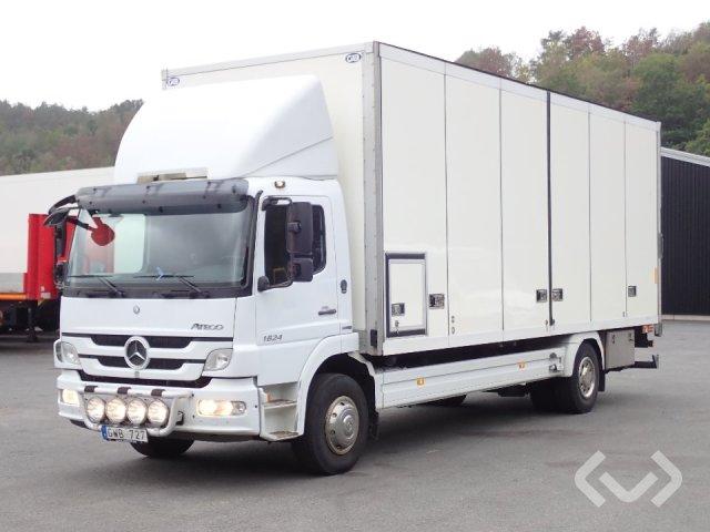 Mercedes Atego 1624 (Euro 5) 4x2 Skåp (öppningsbar sida+bg-lyft) - 11