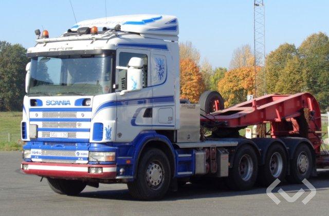 Scania R164GB NA480 8x4*4 Dragbil (tungdragare) - 01