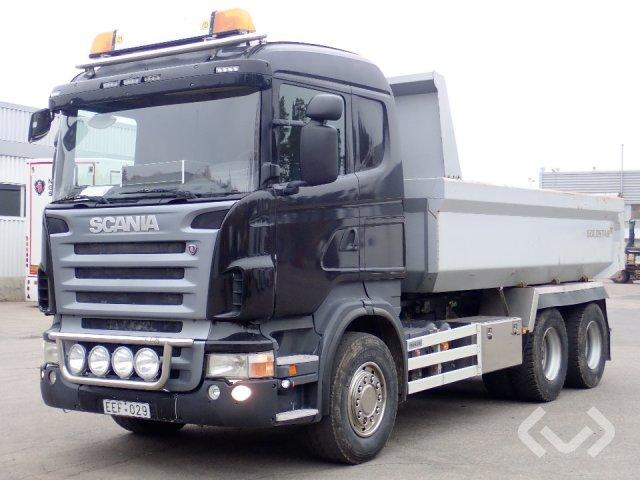 Scania R440LBHHA 6x4 Dumperbil - 09