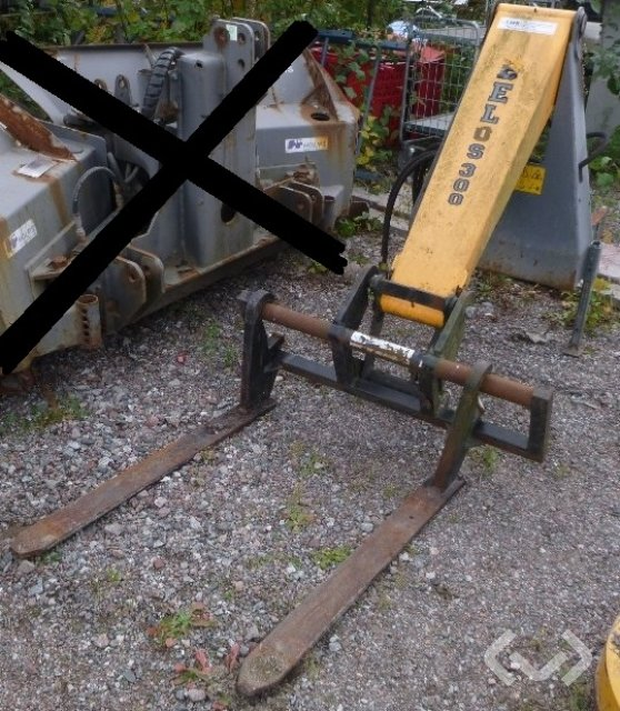 Belos Transpro Lastaraggregat, skopa och gafflar