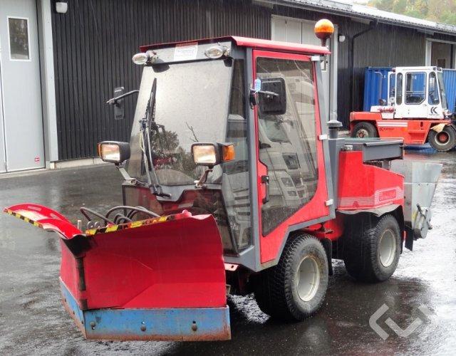 Nimos DM-Trac 204 Redskapsbärare med plog & spridare - 05