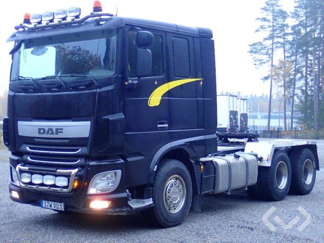 DAF XF510Z 6x4 Dragbil - 14