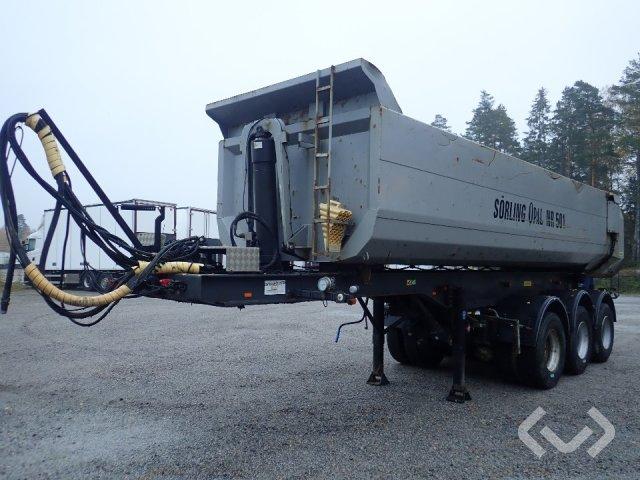 Kilafors TRB3CTB3-41-90 3-axlar Tipptrailer (dumper) - 08