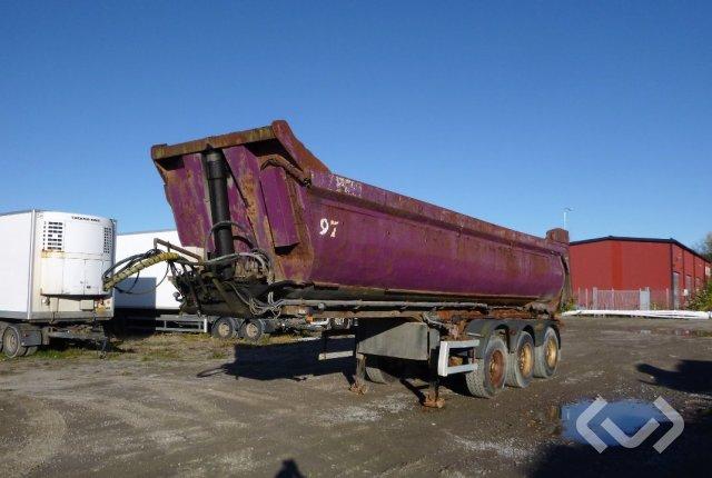 Nor Slep SE42T 3-axlar Tipptrailer - 99