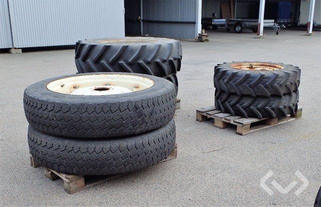 Good Year mm Traktordäck på fälg, 6 st
