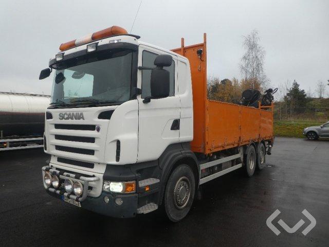 Scania R420LBHNA 6x2*4 Flak-lämmar (kran) - 07