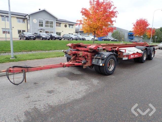 Hogstad S3 LV30 3-axlar Lastväxlarsläp (tipp) - 97