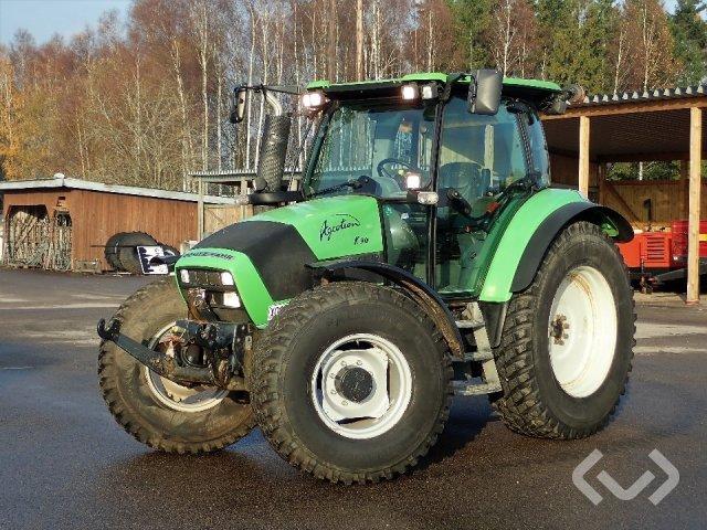 Deutz-Fahr Agrotron K90 Traktor med frontlyft - 06