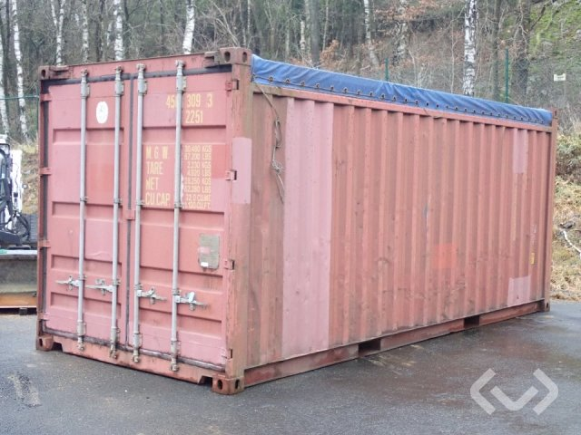 Opentop container 20 fot