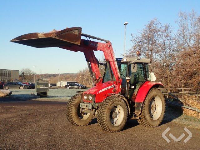 Massey Ferguson 6455 Traktor med frontlastare & entreprenadskopa - 10