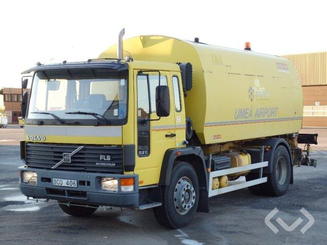 Volvo FL618 glykolsug 4x2 Sopmaskin - 95
